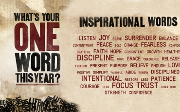 My one word, and the one word for our church: TIME